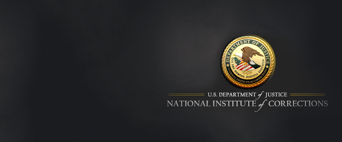 National Institute of Corrections Seal and text
