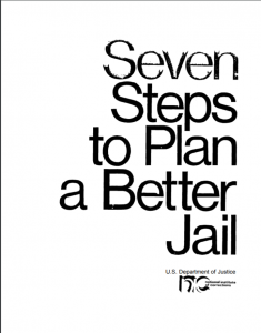 Seven Steps To Plan a Better Jail cover