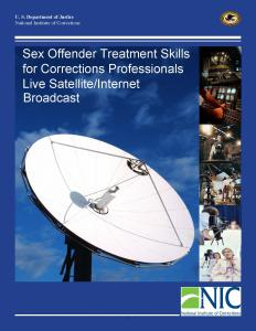 Sex Offender Treatment Skills for Corrections Professionals Cover