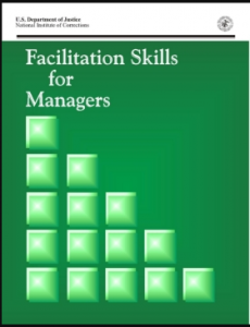 Facilitation Skills for Managers: Training Curriculum Package Cover