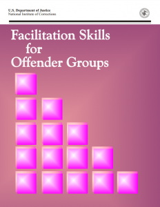 Cover image for Facilitation skills for offender groups