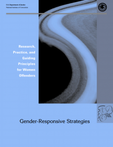 Gender Responsive Strategies Cover