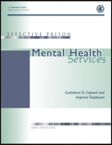Effective Prison Mental Health Services: Guidelines to Expand and Improve Treatment Cover