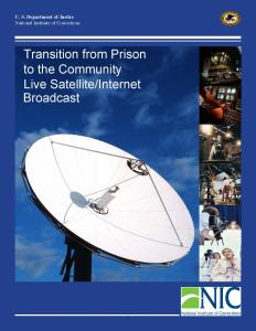 Transition from Prison to the Community Cover