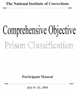 Comprehensive Objective Cover
