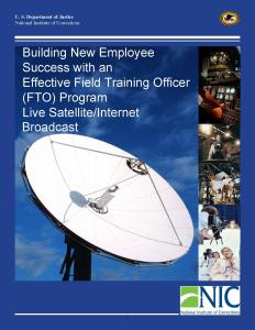 Building New Employee Success with an Effective Field Training Officer (FTO) Program Cover