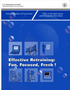 Effective Retraining: Fun, Focused, Fresh! Cover