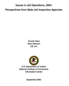 Issues in Jail Operations Cover