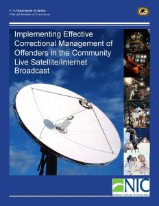 Implementing Effective Correctional Management of Offenders in the Community Cover