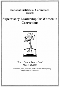 Supervisory Leadership Cover