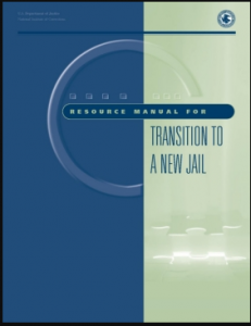 Resource Manual for Transition to a New Jail Cover