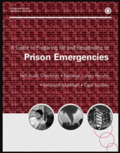 A Guide to Preparing for and Responding to Prison Emergencies Cover