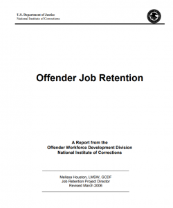 Offender Job Retention Cover
