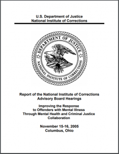 Improving the Response to Offenders with Mental Illness Through Mental Health and Criminal Justice Collaboration Cover