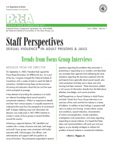Trends from Focus Group Interviews cover