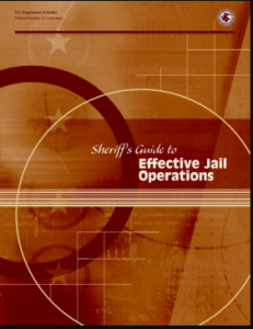 Sheriff's Guide to Effective Jail Operations Cover