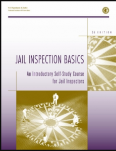 Jail Inspection Basics:  An Introductory Self-Study Course for Jail Inspectors Cover