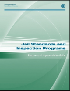 Jail Standards and Inspection Programs:  Resource and Implementation Guide Cover