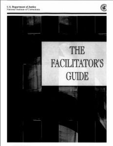 The Facilitator's Guide Cover