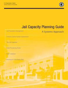Jail Capacity Planning Guide: A Systems Approach Cover
