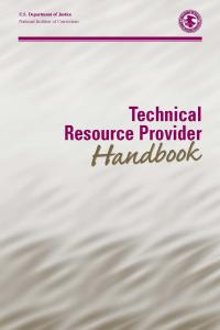 Technical Resource Provider Handbook Cover