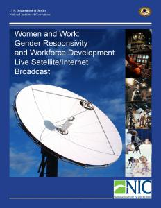 Women and Work: Gender Responsivity and Workforce Development Cover