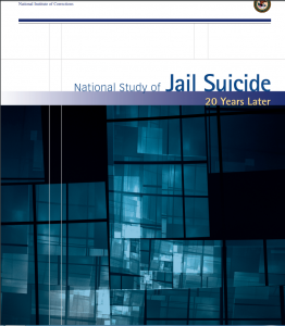 National Study of Jail Suicide: 20 Years Later Cover