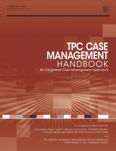 TPC Case Management Handbook: An Integrated Case Management Approach Cover