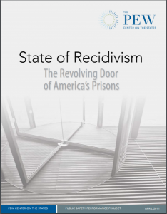 State of Recidivism: The Revolving Door of America's Prisons Cover
