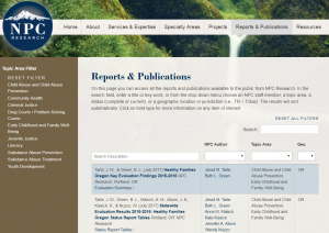 Reports and Publications Cover