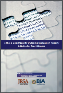 Is This a Good Quality Outcome Evaluation Report? A Guide for Practitioners Cover
