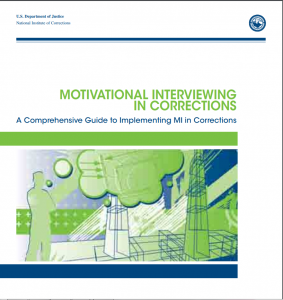 Motivational Interviewing in Corrections: A Comprehensive Guide to Implementing MI in Corrections Cover