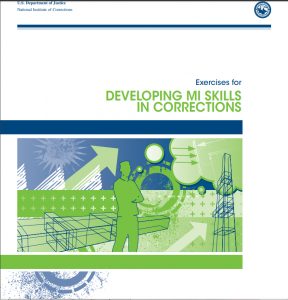 Exercises for Developing MI Skills in Corrections Cover