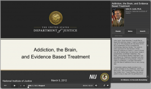 Addiction, The Brain, and Evidence Based Treatment Cover