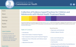 Collection of Evidence-based Practices Cover