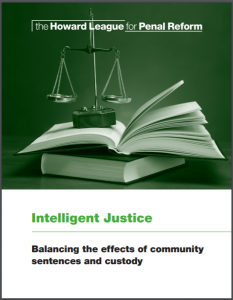 Intelligent Justice: Balancing the Effects of Community Sentences and Custody Cover