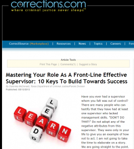 Mastering Your Role Cover