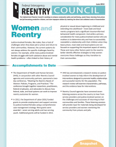 Women and Reentry cover