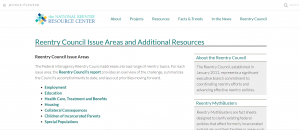 › Reentry Council Snapshots and Additional Resources Cover