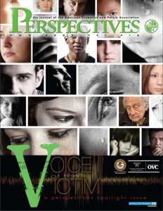 Voice of the Victim: A Perspective Spotlight Issue Cover