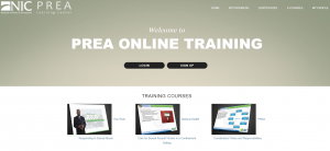 PREA Online Training Cover