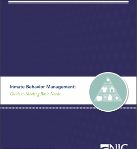 Inmate Behavior Management: Guide to Meeting Basic Needs Cover