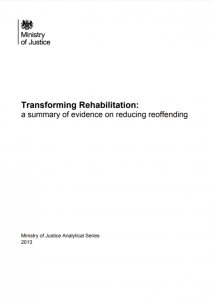 Transforming Rehabilitation: A Summary of Evidence on Reducing Reoffending Cover