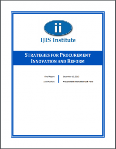 Strategies for Procurement Innovation and Reform Cover