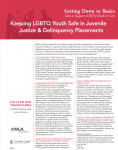 Keeping LGBTQ Youth Safe Cover