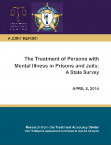 The Treatment of Persons with Mental Illness in Prisons and Jails: A State Survey cover