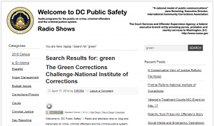 The Green Corrections Challenge-National Institute of Corrections [Podcast] Cover