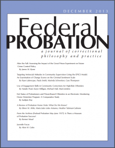 Review of Probation Home Visits: What Do We Know? Cover