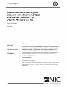 Mapping the Criminal Justice System Cover