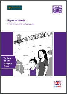 Neglected Needs: Girls in the Criminal Justice System Cover